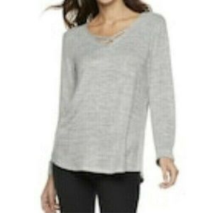 SONOMA Goods for Life Supersoft Crisscross Top XL